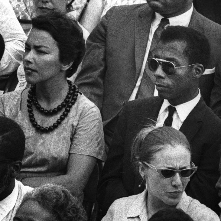 "James Baldwin im Dokumenatrfilm ""I AM NOT YOUR NEGRO"""